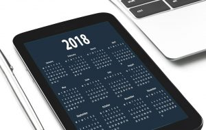 2018 marketing budget calendar